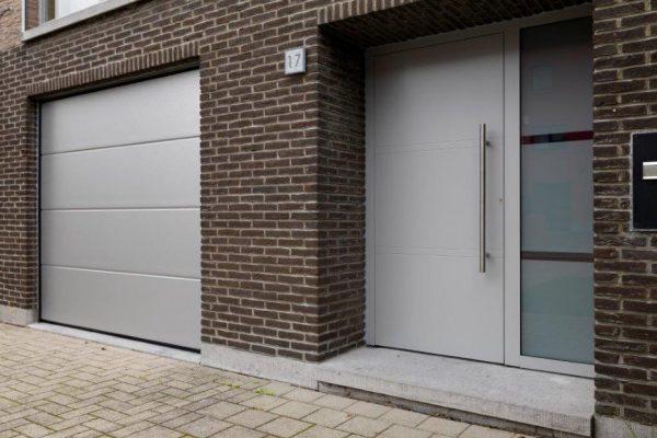 aluminium voordeur en poort