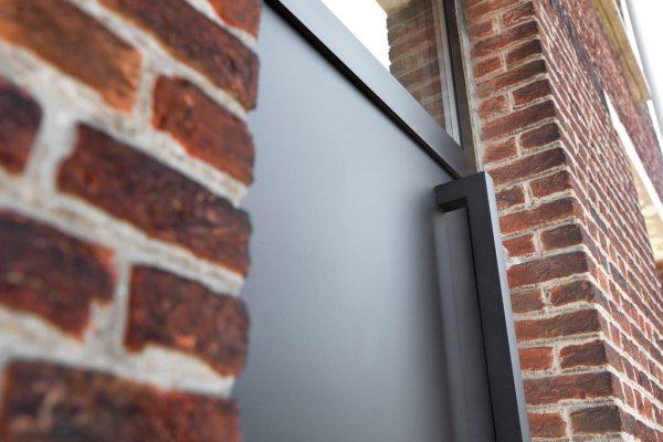 mooie aluminium deur