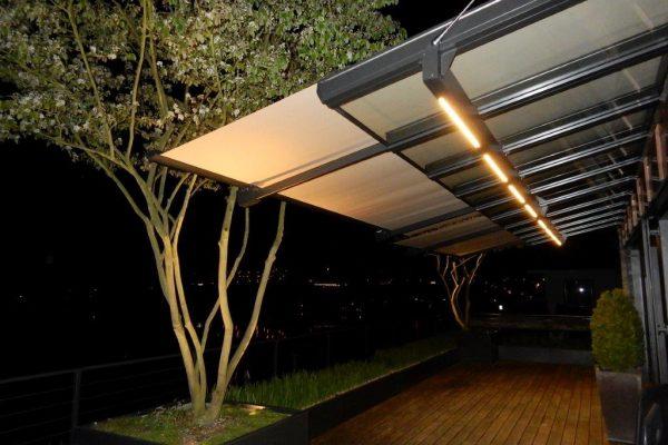LED verlichting zonwering
