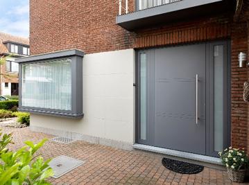 aluminium voordeur kontich